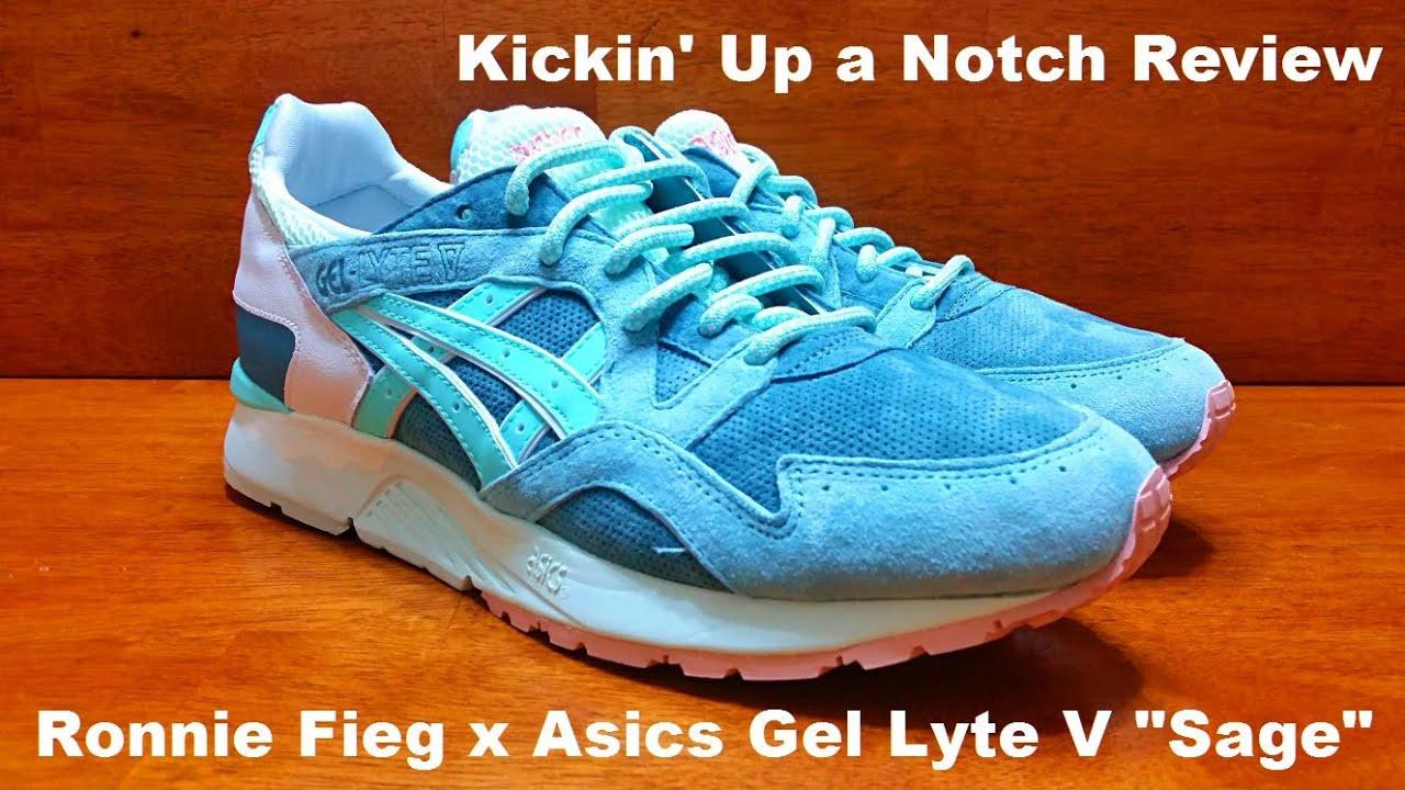 pretty nice c07b8 aa0b1 Ronnie Fieg x Asics Gel Lyte V Sage Review