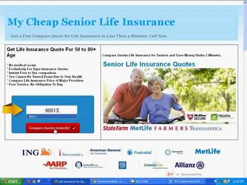 Get Life Insurance Quotes Custom Can I Get Life Insurance 79 Year Old Female Quotes  Youtube
