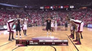 #13 San Diego State @ #11 UNLV 2-11-12 (Full Game)