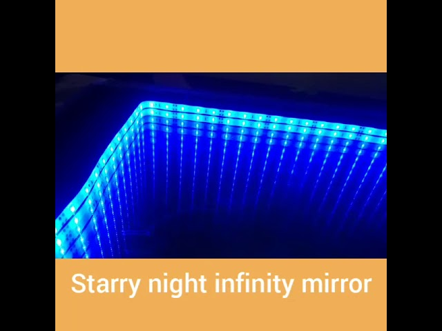 Starry Night Infinity Mirror