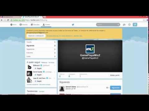 Video info ya tenemos Twitter y Facebook