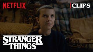eleven explores the wheeler house | stranger things 1