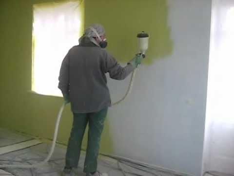 Краскопульт для декоративной покраски стен можно лиделать наливные полы напокрытие изгипсоволокна