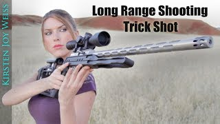 Long Range TRICK SHOT - STANDING Position! - EGG (Crazy TINY Target)
