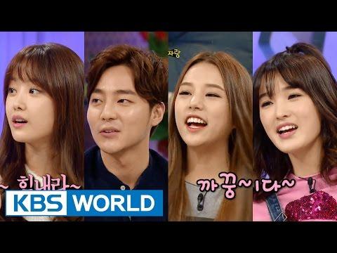 Hello Counselor - Song Jieun, Roy Kim, Solbin & Yulhui (2015.12.28)