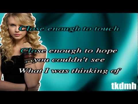 Taylor Swift - Sparks Fly Karaoke/Instrumental [No backingvocals!]
