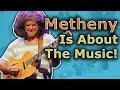 Capture de la vidéo Pat Metheny Is Not About The Notes, Are You?