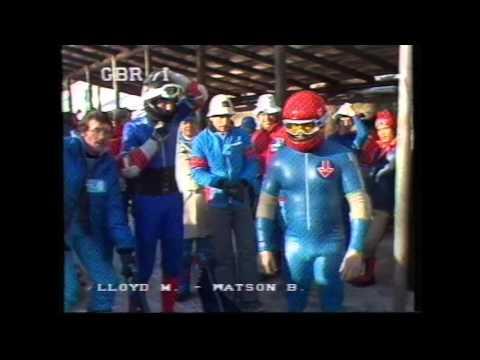 1981  World Champs 2 man    Cortina D'Ampezzo