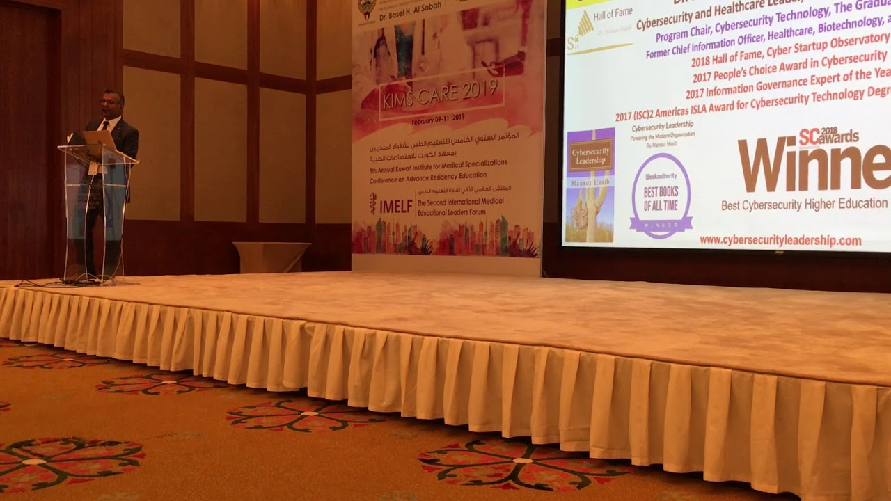 Global Award Winning Cybersecurity Leader, Keynote Speaker