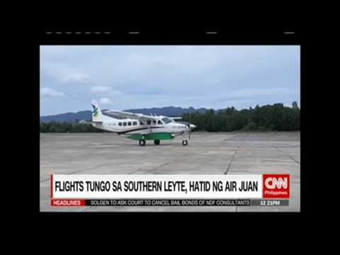 Flights in Southern Leyte by Air Juan