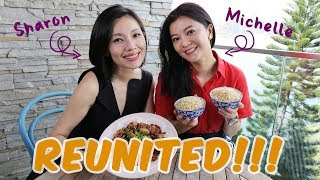 Michelle Chong & Sharon Au Cook Kung Pao Chicken and Talk Future Plans!