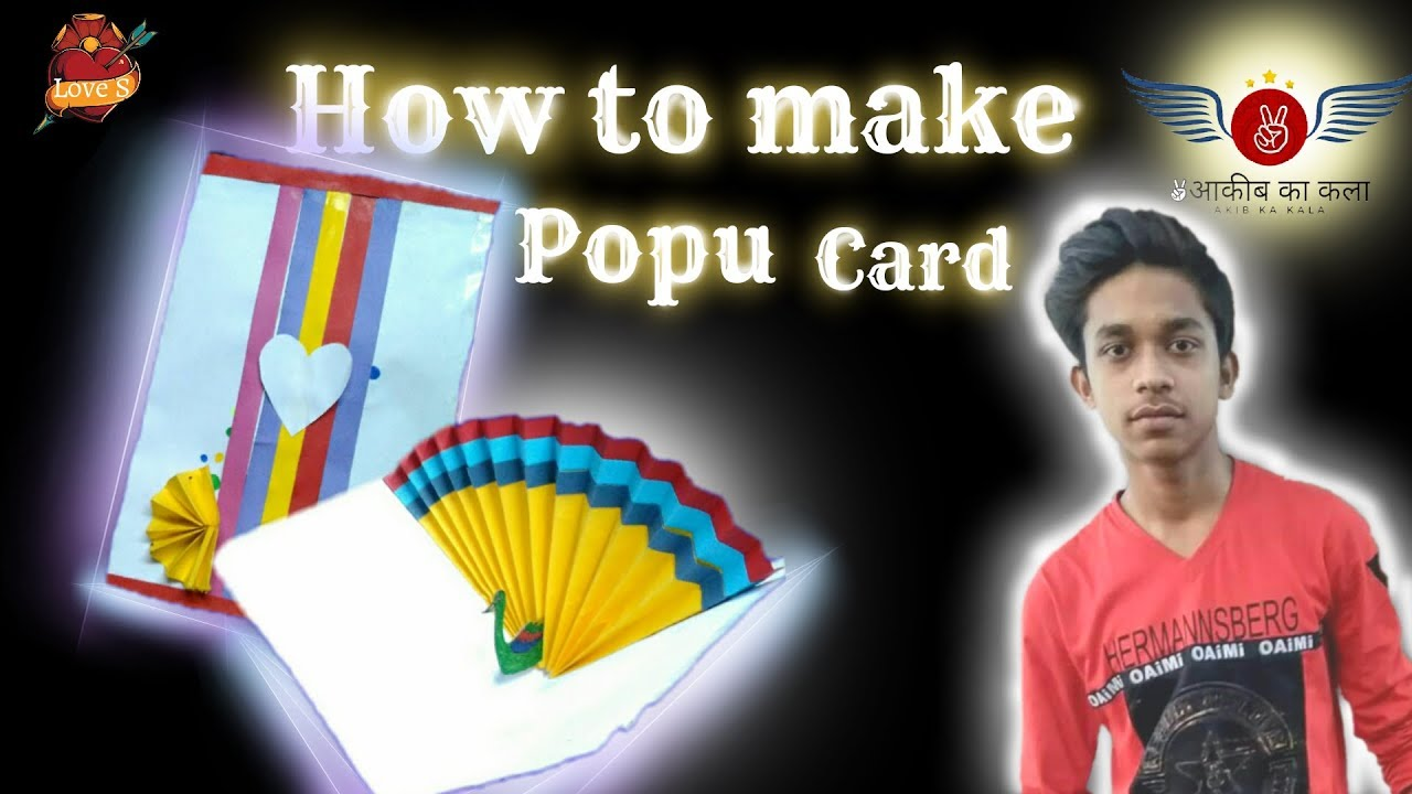how to make pop up cards youtube