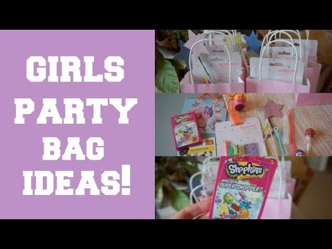 GIRLS PARTY BAG FILLER IDEAS!