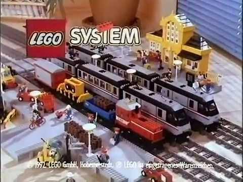 lego werbung bauspielbahn 1992 youtube. Black Bedroom Furniture Sets. Home Design Ideas