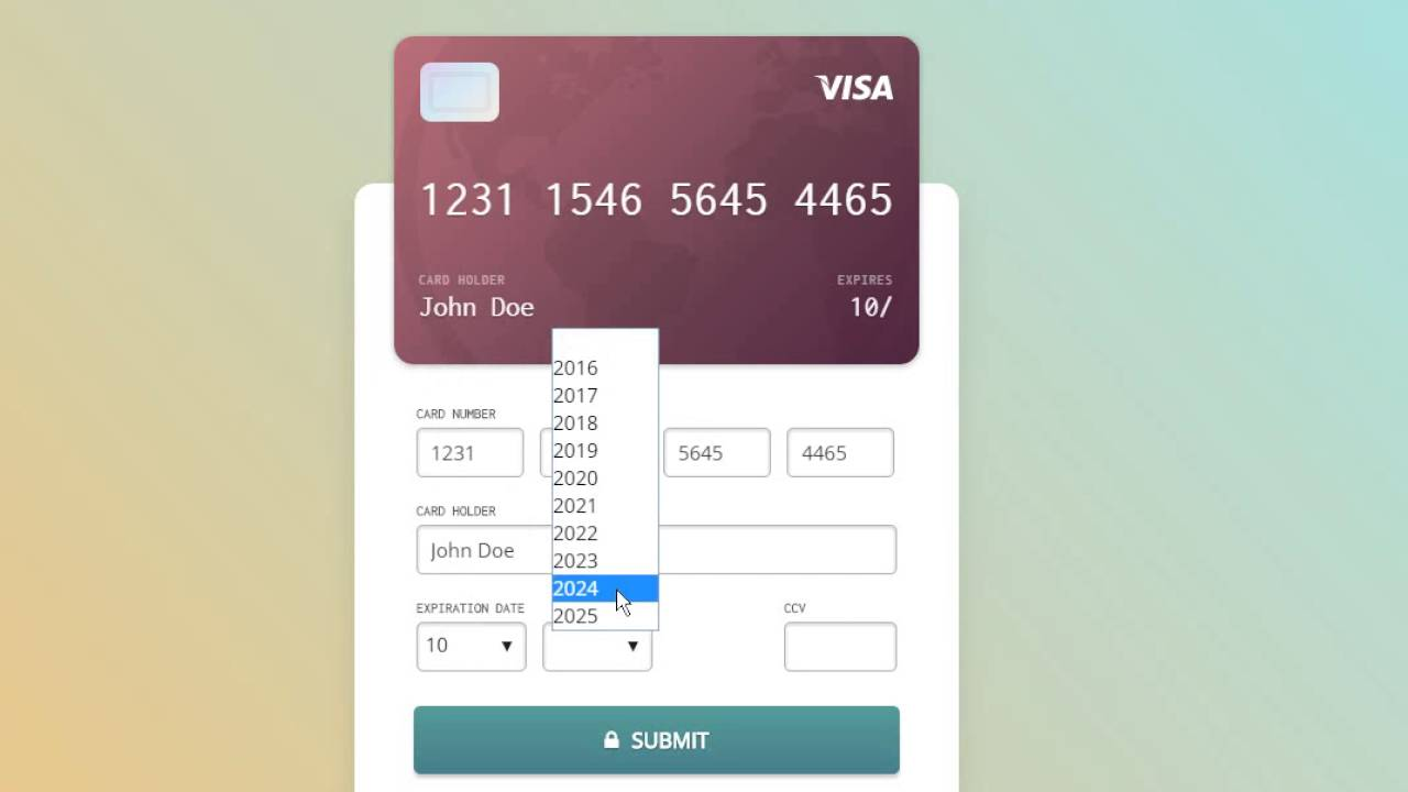 How to find credit card expiration date online in Melbourne