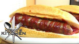 Aussie Hot Dogs (sausage Sizzle) - Video Recipe