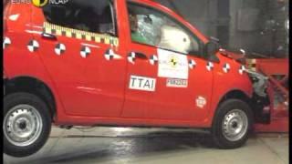 Краш-тест и видео краш-тест Daihatsu Materia (Daihatsu Материа)