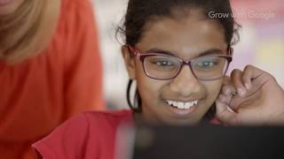 Coding in the classroom with Grow with Google