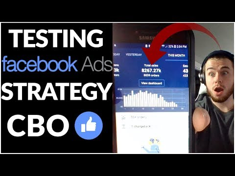 NEW Facebook Ads CBO Testing Strategy | Shopify Dropshipping 2019 (Part 1) thumbnail