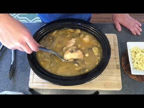 Slow Cooker Chicken And Mushrooms Recipe