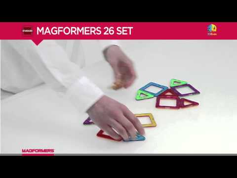 MAGFORMERS STANDARD RAINBOW 26PC SET
