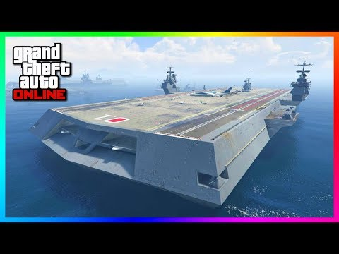 GTA Online Naval DLC Update Concept - Sea Properties, NEW Yachts, Aircraft Carriers & MORE! (GTA 5)