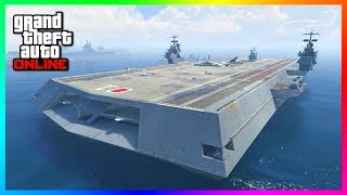 Video GTA Online Naval DLC Update Concept - Sea Properties, NEW Yachts, Aircraft Carriers & MORE! (GTA 5) download MP3, 3GP, MP4, WEBM, AVI, FLV September 2018