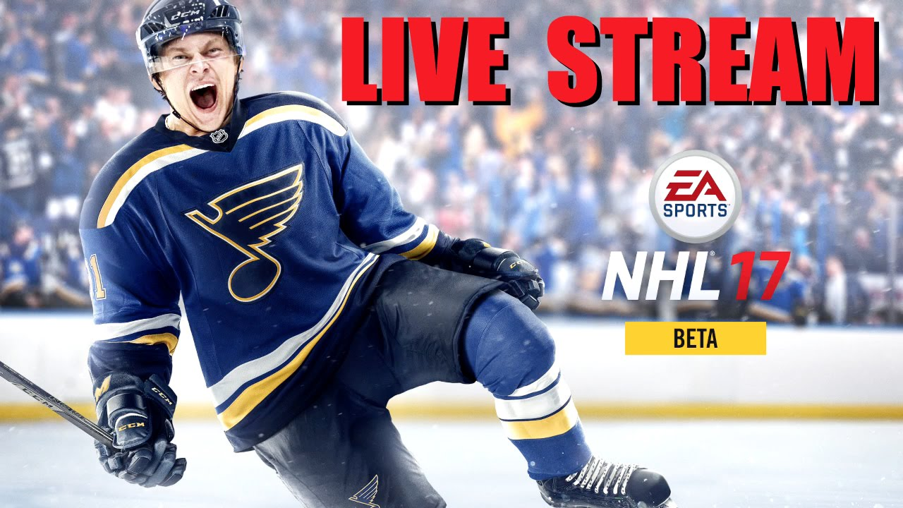 NHL 17 Beta Live Stream (Xbox One)