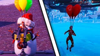 NEW FORTNITE GLITCH - HOW TO TELEPORT TO SALTY SPRINGS FROM ANYWHERE (fortnite glitches 2019)