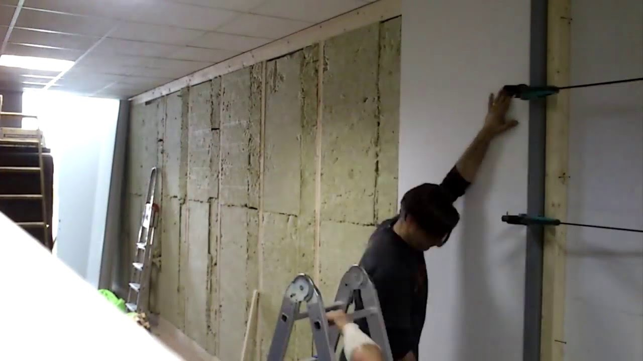 Montaje De Empanelado Panel Melamina En Mampara Madera Con - Panelado-madera