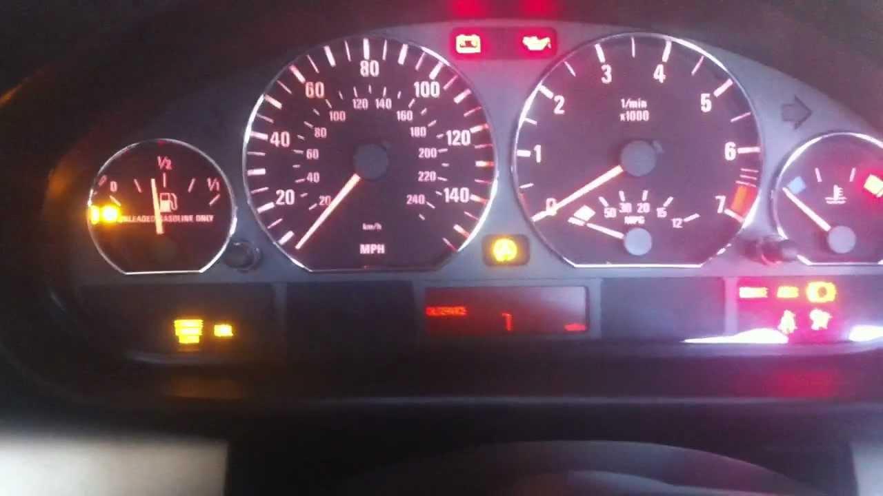 Bmw E46 Dash Warning Lights Bmw E46 Dash Light Up Trick Shows All