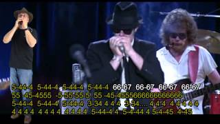 nº 406 Everybody Needs Somebody to Love ( The Blues Brothers )tabl.arm.diat.( C )mundharmonika