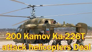 Deal With Russia To Buy 200 Kamov Military Helicopters To Be Sealed By October