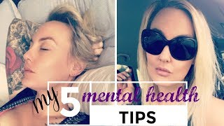 5 tips on how to cope when your depression & anxiety is playing up || Kimberly Lush