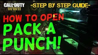 How To Open Pack A Punch! Step By Step Guide! | WW2 Zombies The Final Reich |