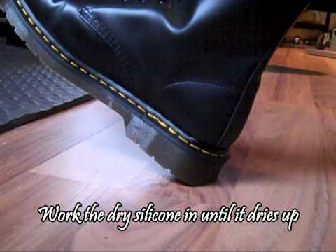 How to stop Doc Martens from Squeaking