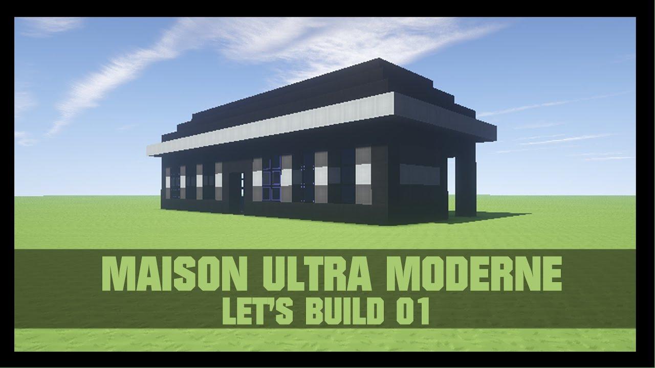 Tuto comment construire une maison moderne dans for Construire une maison terraria
