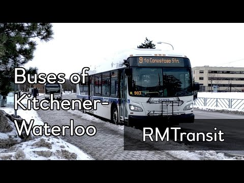 Buses of Kitchener-Waterloo (Grand River Transit)