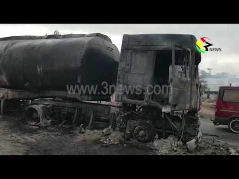 Tanker explosion at Ejisu-Besease - 14/12/2016