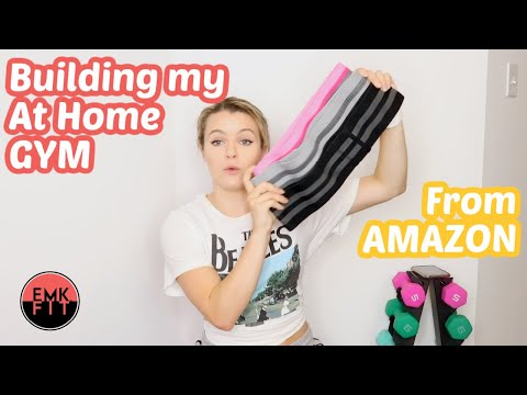 CREATING YOUR AT HOME GYM ON A BUDGET.