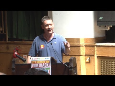 Chris Baugh at NSSN conference