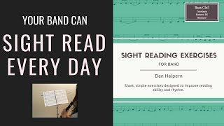 Sight Reading Exercises for Band Preview