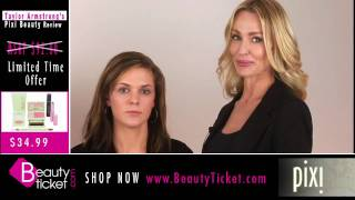 Taylor Armstrong and Erin Moffett review exclusive Pixi sets for BeautyTicket.com