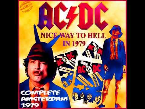 AC DC Holland 12 Nov 1979