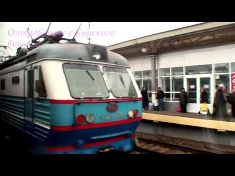 На поезде Москва-Владивосток Фильм 1 Москва-Владимир(часть 1)