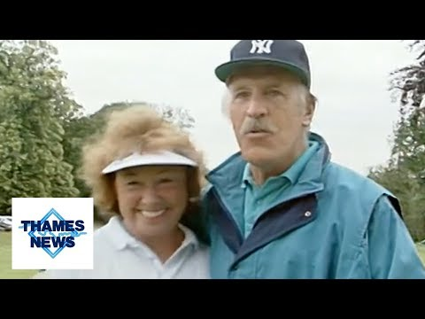 Generation Game Host Bruce Forsyth Charity Golf Game Questions Loch Ness Monster | Thames News