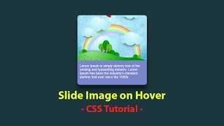 Slide image on hover css effect - Html css - Plz Subscribe Our Channel For Daily Videos