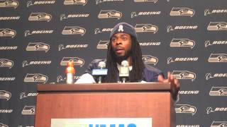 Richard Sherman on black-on-black violence