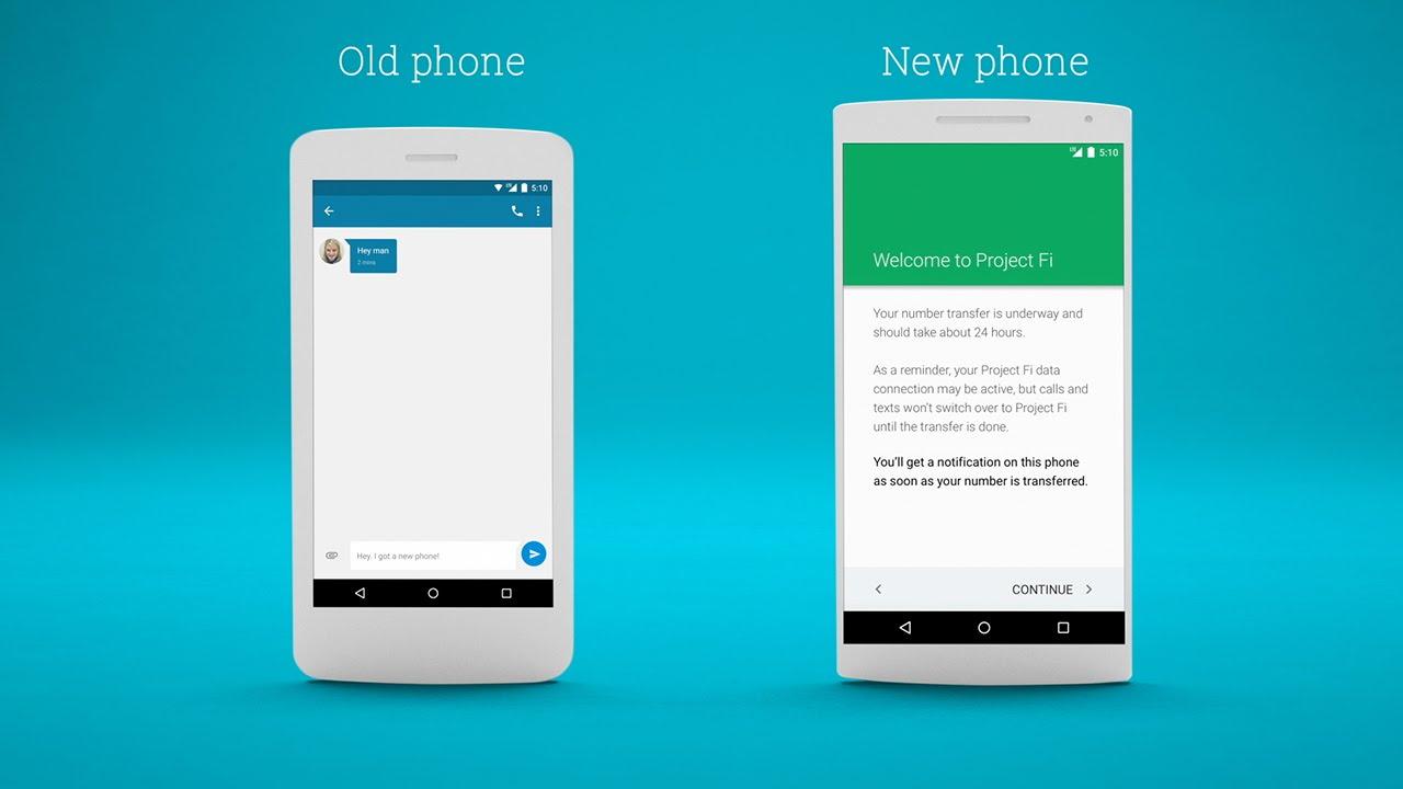 move phone to google voice