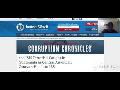 100 Terrorists Caught in Guatemala as Caravan Heads to U.S.